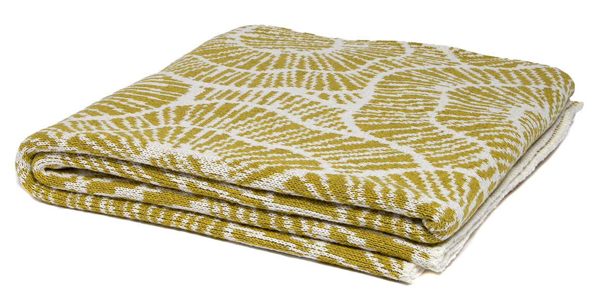 Poppy Moss/Milk-  <a href='https://www.in2green.com/collections/stacy-garcia-collection/products/eco-poppy-throw' style='text-decoration: underline;'>Where to Buy</a>